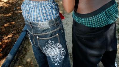 En Carolina del Sur quieren prohibir los 'saggy pants'.