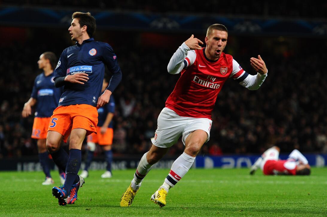 Misterio Podolski: con clubes era Clark Kent; y con Alemania, Superman 2...