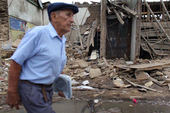 La sismicidad de la zona se ha atenuado en la actualidad, con 96 sismos...