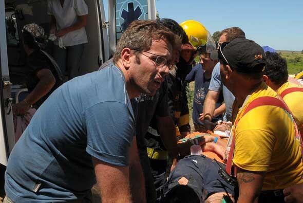 El accidente dejó una persona muerta y cuatro heridos graves.