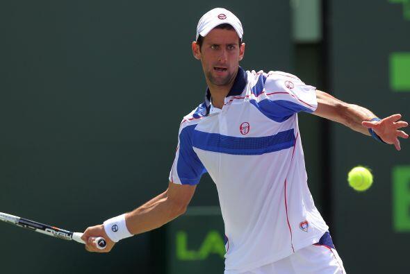 Novak Djokovic vio terminada su gran racha de 41 victorias al ser derrot...