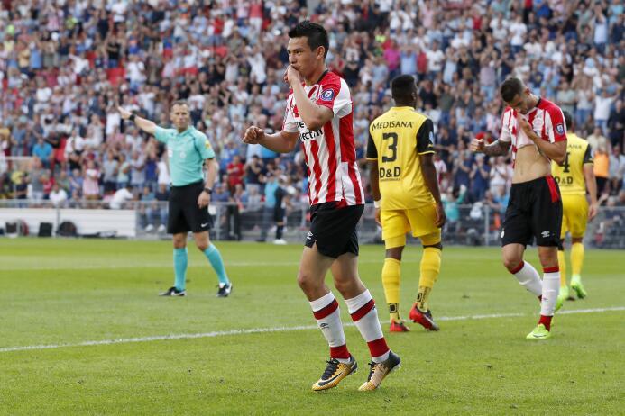 Eredivisie / PSV [2]-0 Roda JC: tercer gol del Chuky Hirving Lozano con...