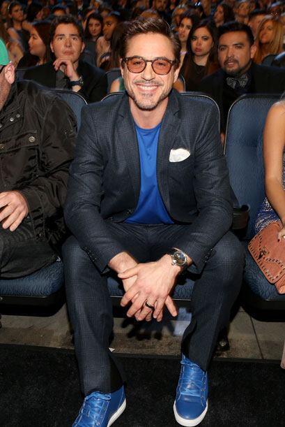 Robert Downey Jr. bromeaba con la gente.