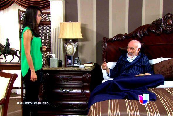 Don Vicente le prometió mantenerla y darle una buena cantidad de dinero...