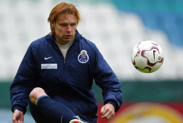 EDGARAS JANKAUSKAS | Fue miembro de ese milagroso equipo del FC Porto qu...