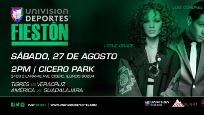El Fiestón de Univision Deportes llega a Chigago con el clásico América-Chivas