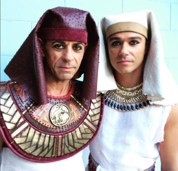 José de Egipto, las mejores fotos detrás de cámaras | José de Egipto Unt...