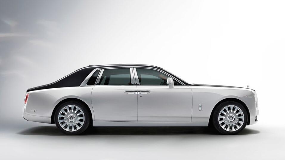 Dios salve al rey: este es el nuevo Rolls-Royce Phantom VIII Rolls-Royce...