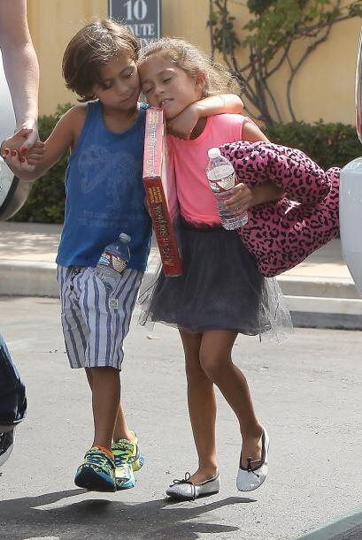 Los hijos de Jennifer Lopez son encantadores.