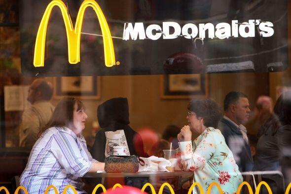 Pasarla bien un restaurante de comida rápida, no es una limitación para...