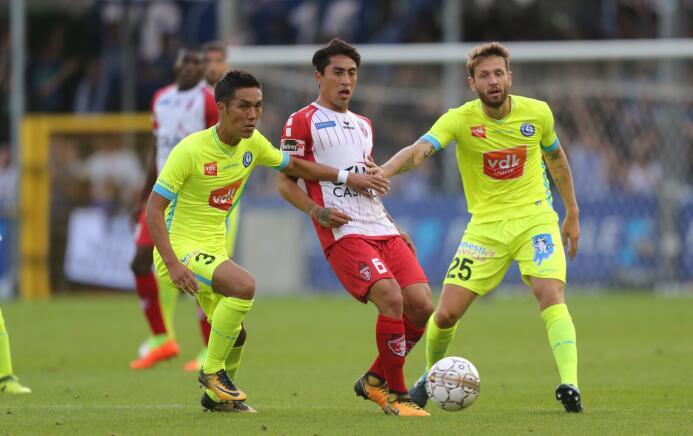 Omar Govea, elegido en el Equipo de la Semana de la liga de Bélgica Gett...