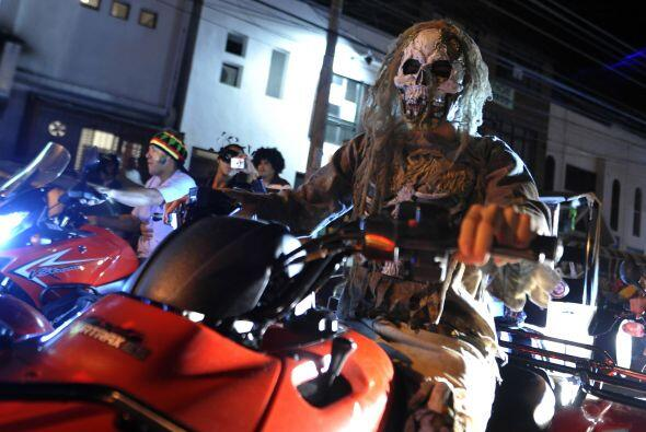 Colombia es uno de los países que ha adoptado la fiesta de Halloween. Ci...