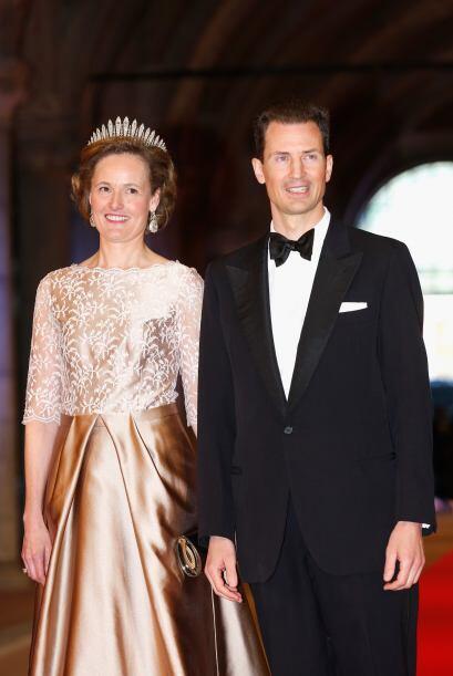 La princesa Sofía de Liechtenstein suele ser un poco más conservadora en...