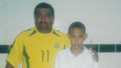 Betinho, el descubridor de Neymar que sueña con verlo convertido en el mejor futbolista del mundo