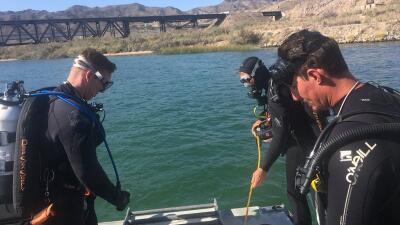 Hallan un tercer cuerpo tras el choque de dos embarcaciones en el río Colorado