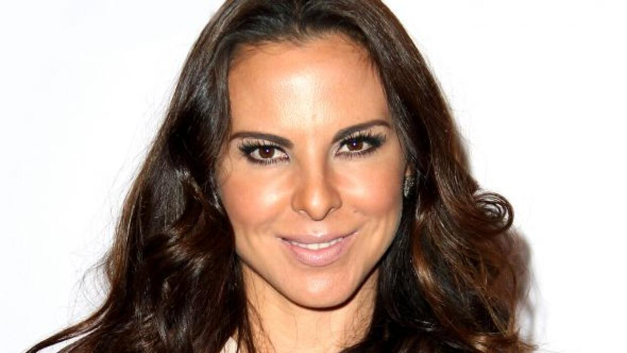 ¿Con cuál actor de Hollywood se estuvo besuqueando Kate del Castillo?