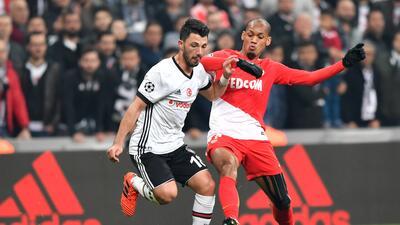 Mónaco y Besiktas negocian empate pensando en octavos de final