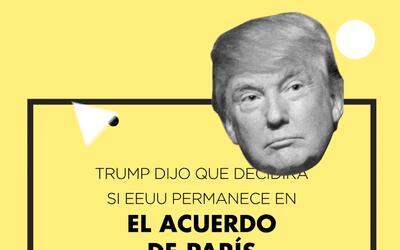 La promesa de Trump sobre el Acuerdo de París