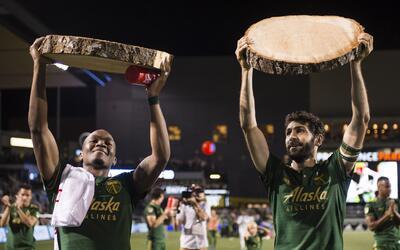 Diego Valeri, Darlington Nagbe Portland Timbers
