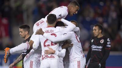 En fotos: los Red Bulls logran el primer nocaut de la MLS sobre la Liga MX al eliminar a los Xolos