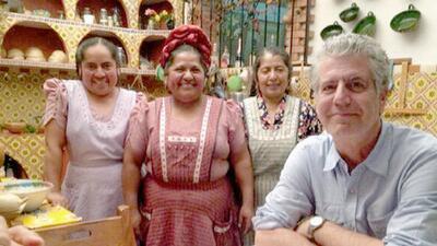 De México a Palestina: las cocinas que Anthony Bourdain le mostró al mundo