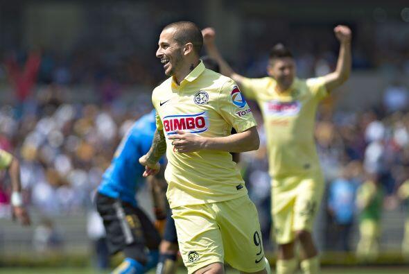 El delantero argentino tiene los mismos cuatro goles que Peralta aunque...