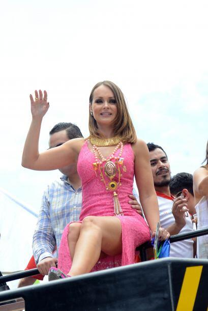 Gaby Spanic se convirtió en la reina de la comunidad gay durante la Marc...