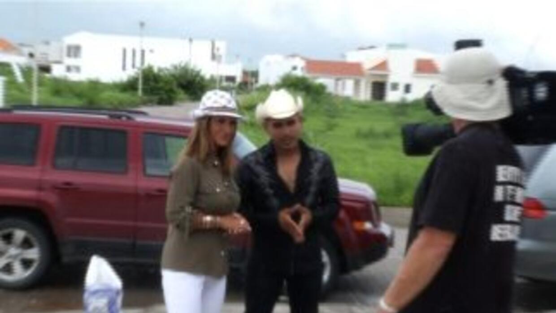 Teresa Rodríguez fue junto al cantante hasta Sinaloa.