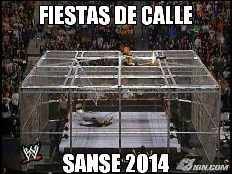 """Hell In A Cell!!! #Sanse2014""- Teo Ramírez."