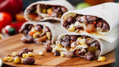 Burritos de maíz y frijol negro | Reto 28