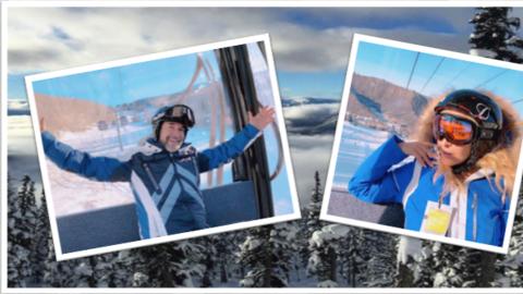 Marco Antonio Solís pasa su cumpleaños en las montañas de Canadá junto a...
