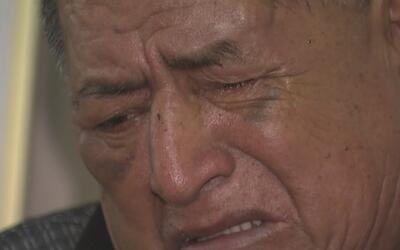 Fue dado de alta el abuelo ecuatoriano que resultó herido en un accident...