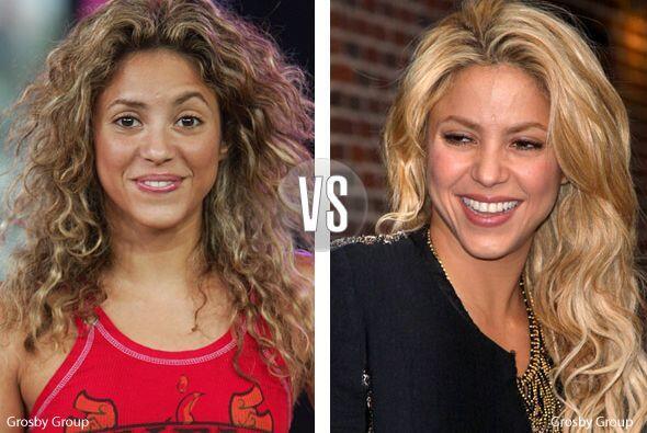 ¡Shakira, Shakira! Es muy hermosa, pero cuando trae la melena alborotada...