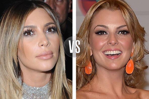 Kim Kardashian y Marjorie de Sousa tienen los mismos 33 años vividos, pe...