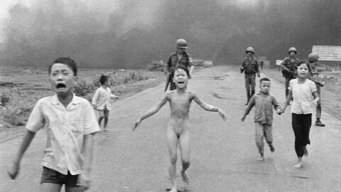 'La niña del napalm' fue tomada el 8 de junio de 1972 por Nick Ut...