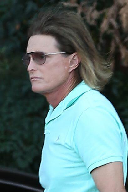 "Bruce Jenner reapareció para filmar el ""Keeping Up With The Kardashians""..."