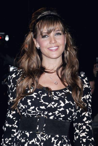"""Danielle luego entró a """"Celebrity Big Brother"""", en donde fue acusada de..."""