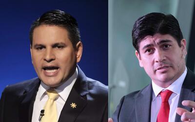 Fabricio Alvarado y Carlos Alvarado