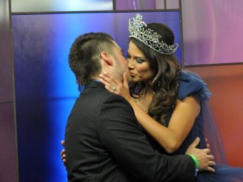 La reina de Nuestra Belleza Latina 2010 se casó a sus 19 a&ntilde...