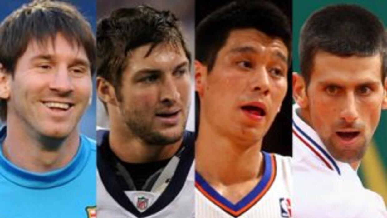 Messi, Tim Tebow, Jeremy Lin y Djokovic están entre las 100 personas más...