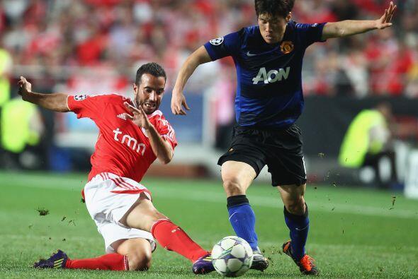 Benfica tiene a varios sudamericanos en su plantel. Los argentinos Aimar...