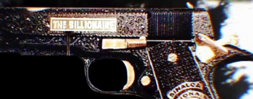 Cañon arma El Chapo