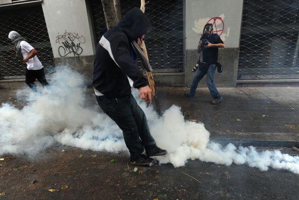 Los representantes de Amnistía Internacional en Chile lanzaron un latent...
