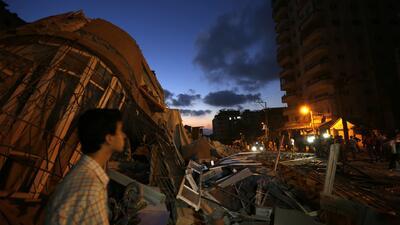 Egipto pide el alto al fuego en la Franja de Gaza