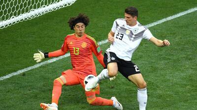 Memo Ochoa, el segundo portero invencible ante Brasil y Alemania en los mundiales