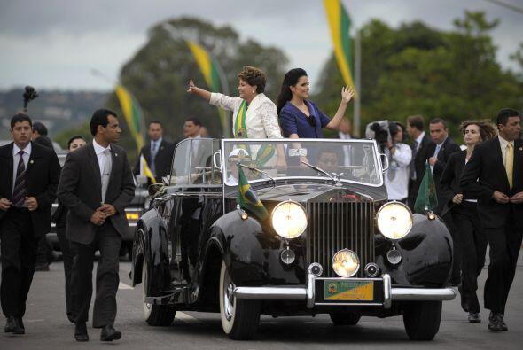 La presidenta de Brasil ha marcado sus prioridades en su gobierno que so...