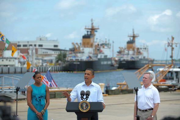 Una de las mayores tragedias ambientales sacudió la presidencia de Obama...