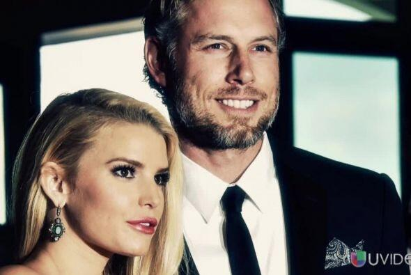 El juramento de amor entre Jessica Simpson y Eric Johnson se llevó la oc...