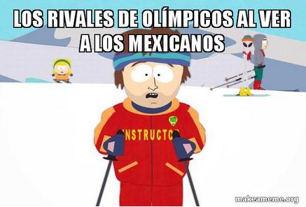 México presenta estrambótico uniforme para los Juegos de Invierno captur...