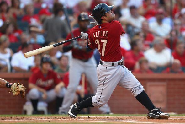 2B. José Altuve. Astros de Houston. Ha participado poco en la temporada,...